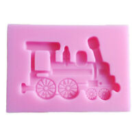 Products Train Shape Silicone Cake Mold Dining Bar Baking Mould