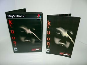 Kuon Playstation 2  - Replacement manual, case and case insert
