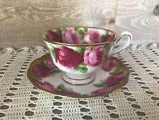 Royal Albert Old English Rose Tea Cup and Saucer