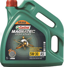 CASTROL MAGNATEC STOP AND START 5W30 A5 5L TALBOT