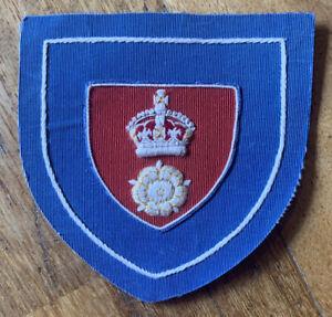 Original 1930s Football Shirt Badge Southampton FC Hampshire FA Blazer