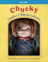CHUCKY COMPLETE 7 MOVIE COLLECTION Blu-ray Child's Play Bride Seed Curse Cult
