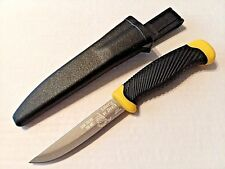 BUDK Wahoo Don't Tread On Me Fillet Fixed Blade Knife For Fishing Hunting Etc.