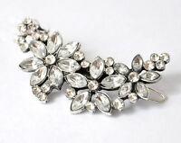 Bridal Wedding Prom Hair Accs Crystal Rhinestone Diamante Hair Clip
