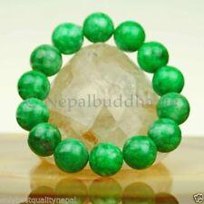 Natürliche Unisex Armbänder mit Jade echten Edelsteinen