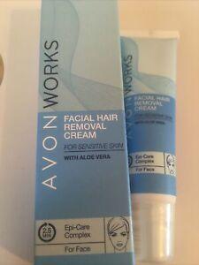 Avon Works Facial Hair Removal Cream  15ml