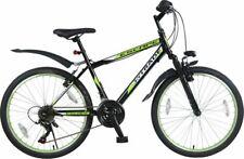 24 ZOLL MOUNTAINBIKE MTB Kinder Mädchen Jugend Fahrrad KINDERFAHRRAD 21 GANG GRÜ