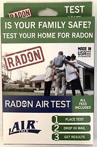Air Chek Radon Air Test Kit New Sealed - All Fees Included (Expires Mar 2022)