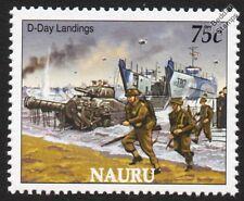 WWII D-Day Landings Stamp (Sherman Crab / LCT Landing Craft Tank / RM Commandos)
