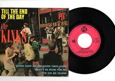 THE KINKS Till The End Of The Day *4 TRACK PYE EP MADE IN FRANCE*