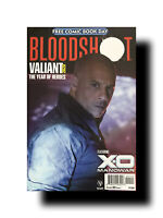 Bloodshot Valiant:The Year of Heroes Free Comic Book Day 2020+X-O MANOWAR SEELEY