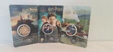 Lot 3 Mini Médaille Harry Potter Monnaie Paris 2021 ! 934 Exemplaires seulement