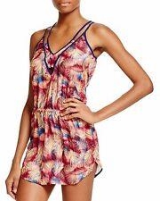 Sofia by Vix Swim Palm Springs Edgy Short Dress Cover Up Sz L (i15)