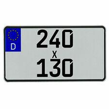 Leichtkraftrad-Eurokennzeichen 240 x 130 mm für 125cm³ (§5a)