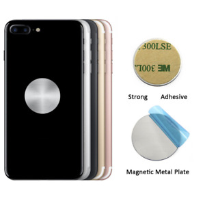 5 Pack - Metal Plate Disk Sticker Iron Sheet For Magnetic Car Phone Holder. 086