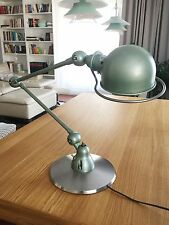 JIELDE CUSTOM MADE LAMP BASE - Raw steel. Heavy and stable.