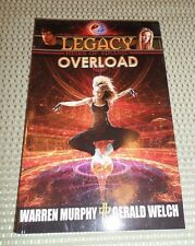 "Legacy Heirs of Sinanju #3 ""Overload"" Warren Murphy & Gerald Welch The Destroyer"