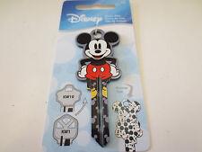 Mickey Mouse Shape D103 Kwikset KW1 House Key Blank Authentic Disney House Keys