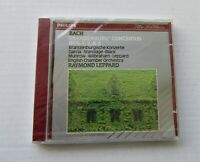 BACH BRANDENBURG CONCERTOS ENGLISH CHAMBER RAYMOND LEPPARD CD NEW SEALED