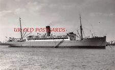 "Vintage Photo - UNION CASTLE, Ocean Liner, Cruise Ship, "" Llandovery Castle """
