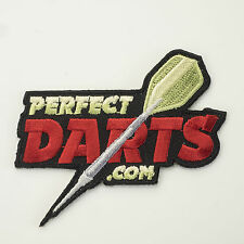DARTS SHIRT IRON ON PATCH BADGE PERFECTDARTS SEW ON OR IRON ON YOUR SHIRT