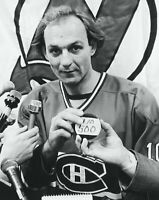 Guy Lafleur Montreal Canadiens Unsigned 8x10 Photo Goal #500