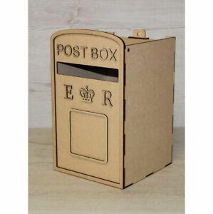 C10 Royal Mail Wedding POST BOX Mdf Craft Kit X Large Post Box, Weddings Party