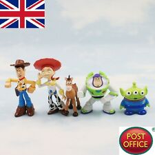 5x Carino TOY STORY 3 Buzz lightyear woody PVC Figure Personaggi Bambola Set Regalo