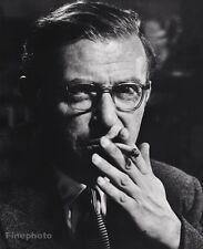 1951 Vintage JEAN-PAUL SARTRE France Philosopher Novelist PHILIPPE HALSMAN 16x20
