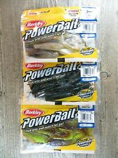 """3 PACKAGES - BERKLEY 4"""" POWER CLAW - BASS FISHING BAITS FOR RIPPING HEAVY COVER"""