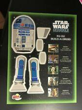 2002 Frito-Lay R2-D2 Premium Prize STAR WARS Cutout Frito Lay Fritolay