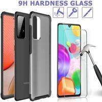 Per Samsung Galaxy A52 5G Custodia, Sottile Trasparente Antiurto Telefono Cover+