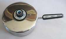 Revere Ware Neptune Seahorse Stainless Steel Big Sauce Pan Cover Mid Century Mod