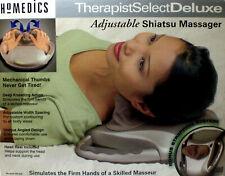 HoMedics Therapist Select Deluxe Adjustable Shiatsu Massager SM200 & Accessories
