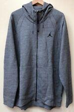 Mens Air Jordan Hoodie Sweaters 860196-091 Grey NEW Size 3XL