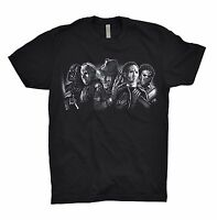 Freddy Krueger Darth Vader Jason Voorhees T Shirt Top Dope Team Evil Nerd Gamer