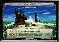 1x Celestine Reef préversions PROMO! Engl. Presque comme neuf Planechase