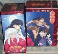 COFANETTO LIMITED BOX CONTENITORE x DVD ANIME 1 EDIZIONE INUYASHA SEASON 3 manga