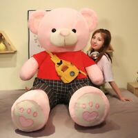 Bears Giant Filled Full Big Large Teddy Bear Stuffed Toys Pink Plush Dolls