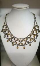 Glass Beaded Choker Costume Necklaces & Pendants