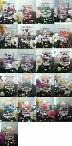 Floating Pearls Wedding Decorations 80pc Mix Size Pearls (Select Color Choice)