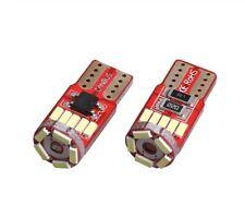 Ampoule T10 LED W5W ULTRA Blanc 15 SMD 6500K Veilleuse Eclairage plaque 300Lm