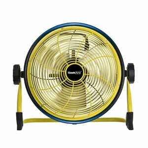 Geek Aire CF1 Outdoor Floor Fan 12-Inch Cordless Variable Speed Rechargeable