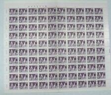 TIMBRES D'ALLEMAGNE : DDR 1981 YVERT N° 2303/05 Oblitéré EN FEUILLE COMPLETE TBE