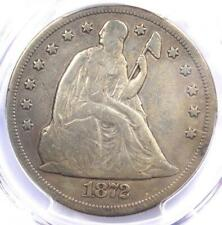 1872-CC Seated Liberty Dollar $1 - PCGS Fine Details - Rare Carson City Coin!