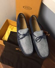 $595 TOD'S*2017 LIMITED EDITION Sz 10UK/11US Loafers Driving Shoes ~textured~