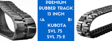 1x PREMIUM RUBBER TRACK  SVL75 / SVL75-2 (13 INCH TRACK) Tread Pattern A