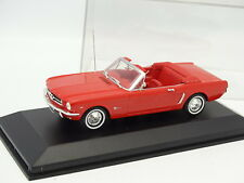 Minichamps 1/43 - Ford Mustang Cabriolet Rouge