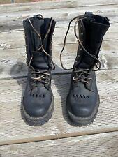 whites smoke jumper boots  6.5 E Black