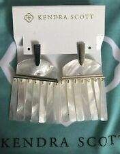New Kendra Scott Layne MOP Earrings  $140.00